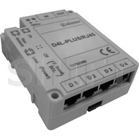 Video distributor D4L-PLUS/RJ45, 4 výstupy, RJ45